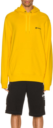 Burberry Robson Hoodie in Canary Yellow | FWRD
