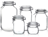 Bormioli 5-Pc. Fido Jar Set