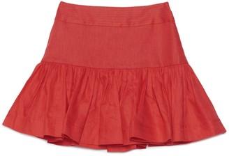 Zimmermann High Waist Mini Skirt