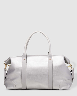 Louenhide - Women's Silver Weekender - Alexis Weekender Bag - Size One Size at The Iconic