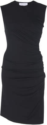 Marina Moscone Ruched Stretch-Jersey Mini Dress Size: XS