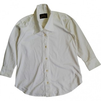 Vivienne Westwood White Cotton Top for Women