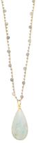 Marlowe Amazonite & Labradorite Pendant Necklace