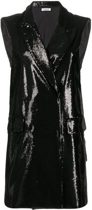 P.A.R.O.S.H. sequined tuxedo dress