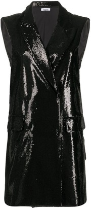 P.A.R.O.S.H. Sequined Tuxedo Dress