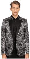 Just Cavalli Royal Batik Print Satin Dinner Jacket