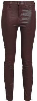 J Brand L8001 Stretch-leather Skinny Pants