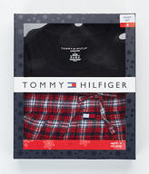 Tommy Hilfiger Knit and Flannel Pajama Set