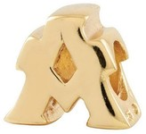 Prerogatives 14K Yellow Gold-Plated Sterling Letter Bead