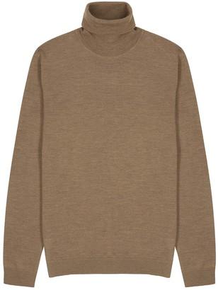 NN07 Richard light brown wool jumper