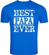 Fresh Tees Best Papa Ever T-shirt Father's Day Shirt (3X-Large, )