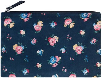 Cath Kidston Park Meadow Bunch Foldaway Overnight Bag - Navy