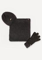 Bebe Hat, Gloves & Scarf Set