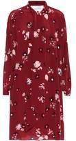 Valentino Floral-printed silk dress