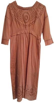 Etoile Isabel Marant \N Orange Cotton Dress for Women