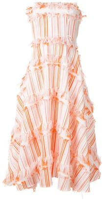 Bambah Confetti-Embellished Midi Dress