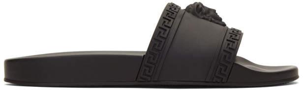 Versace Black Medusa Pool Slides