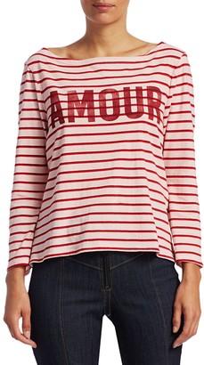 Cinq à Sept Amour Breton Stripe Top