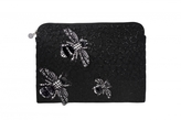 Forest of Chintz Black 'Heard The Buzz' Bag