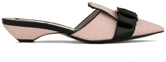 No.21 Buckle Mule Pumps