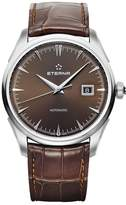 Eterna Men's 1948 Legacy 41.5mm Brown Leather Band Steel Case Automatic Analog Watch 2951-41-50-1323