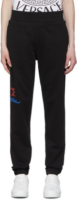 Versace Black Home Signature Lounge Pants