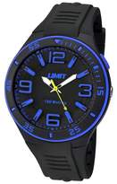 Limit Black Silicone Strap Active Watch