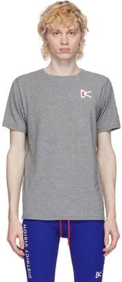 District Vision Grey Tadasana Mountain T-Shirt