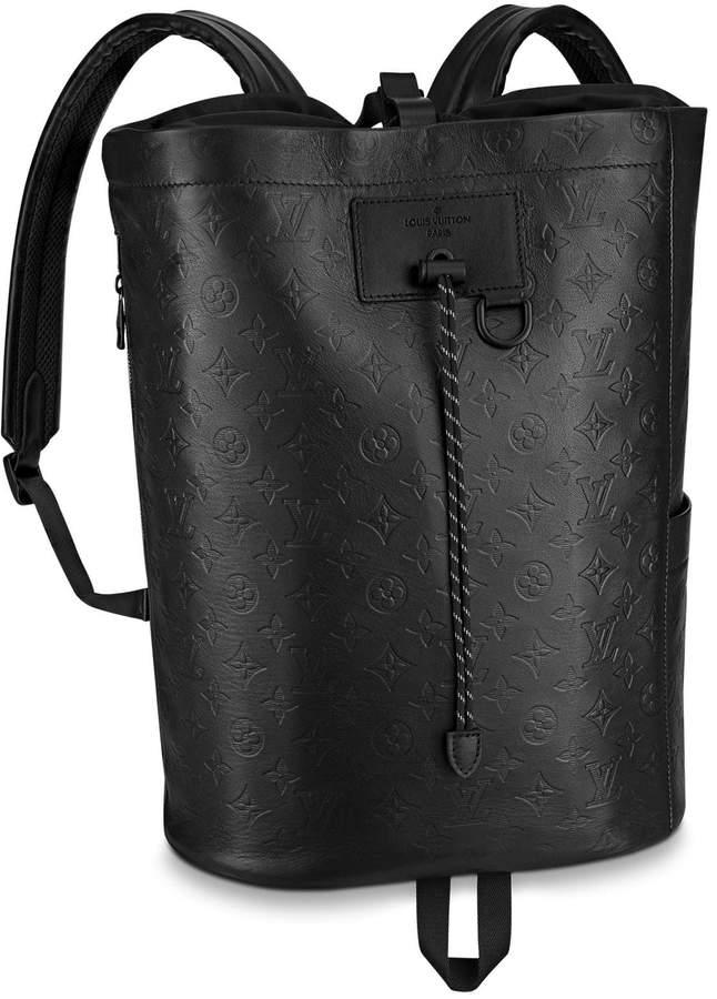 c5cff983d3 Chalk Backpack Monogram Shadow Black