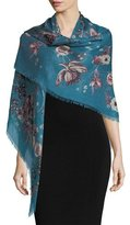 Roberto Cavalli Forbidden Fruit Square Shawl