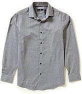 Hart Schaffner Marx Houndstooth Long-Sleeve Woven Shirt