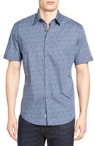 James Campbell Men's Gugino Floral Sport Shirt