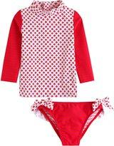 Vaenait Baby 2T-7T Girls Rashguard swimsuit Hula Hula Navy XL