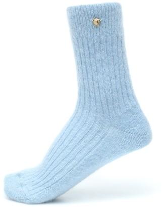 Versace Exclusive to Mytheresa Mohair-blend socks