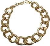 Kenneth Jay Lane Chain Collar Necklace-14kt Gold Plate