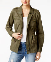 Maison Jules Cotton Utility Jacket, Only at Macy's