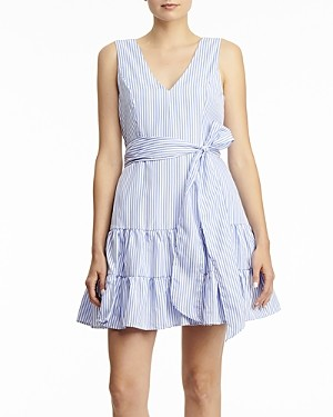 Aqua Striped Mini Dress - 100% Exclusive