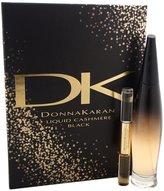 Donna Karan Gift Set Liquid Cashmere Black By