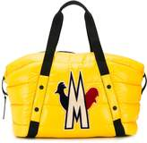 Moncler padded logo-patch holdall