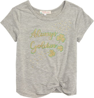 Truly Me Always Golden Graphic Tee