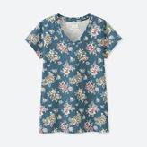Uniqlo WOMEN EPICE Short Sleeve V Neck T-Shirt