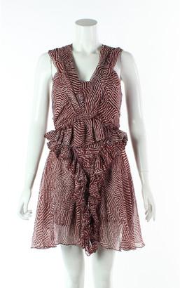 Isabel Marant Orange Silk Dresses