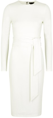Alice + Olivia Delora stretch-crepe midi dress