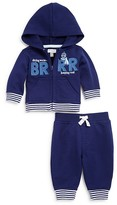 Absorba Infant Boys' French Terry Hoodie & Jog Pants Set - Sizes 0-9 Months
