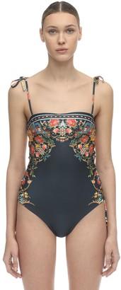 Agua Bendita Sandy Floral Print Swimsuit