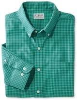 L.L. Bean L.L.Bean Wrinkle-Free Check Shirt, Traditional Fit