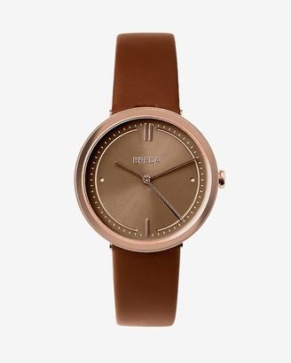 Express Breda Brown Agnes Watch