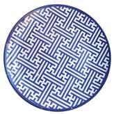 Jay Import Maze Blue Round Platter