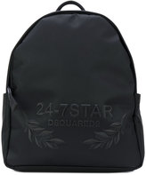 DSQUARED2 branded backpack - men - Polyurethane - One Size