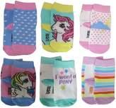 Hasbro My Little Pony Rainbow Socks 6 Pack - Infant